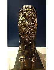تمثال اسد من النحاس الخالص