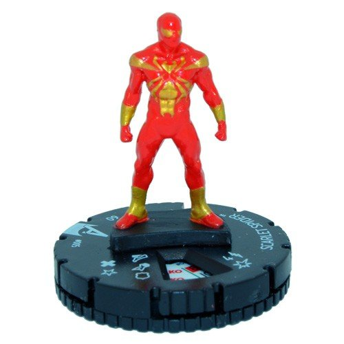 Heroclix Marvel Avengers Assemble #005 Scarlet Spider Figure Complete with Card