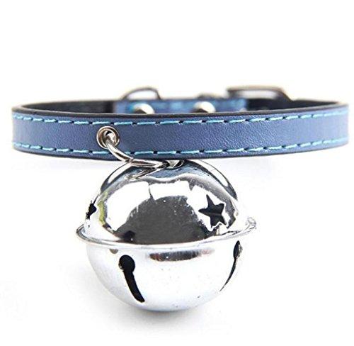 [Shensee Hot Adjustable Dog Cat Pet Cute Tie With Bell Puppy Kitten Necktie Collar (Dark Blue)] (Diy Cartoon Halloween Costumes)