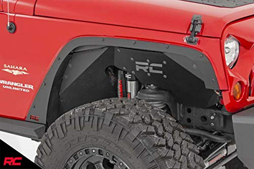 Rough Country Fender Delete Kit (fits) 2007-2018 Jeep Wrangler JK Front/Rear Set 10538