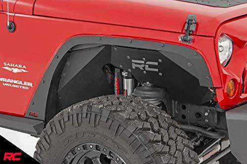 Rough Country Fender Delete Kit (fits) 2007-2018 Jeep Wrangler JK Front/Rear Set 10538