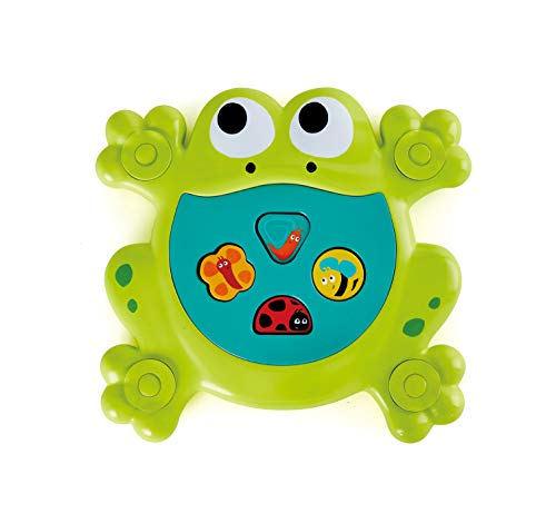 Hape E0209 Feed Me Bath Frog Toy, Multicolor