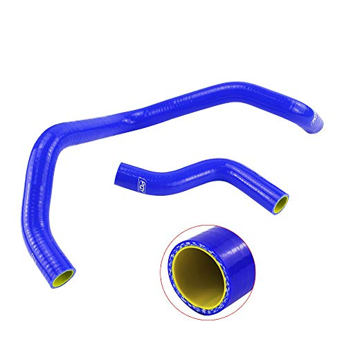Intercooler Silicone Hose Kit Radiator Blue Tube Fit For,HondaCivicD15D16: