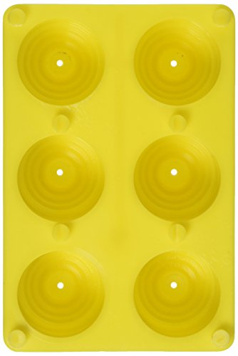 Yaley Plastic Votive Candle Mold, 6/Pack