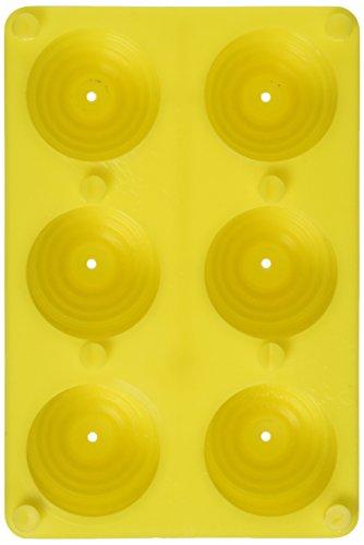 Yaley Plastic Votive Candle Mold, 6/Pack (Mold Votive)