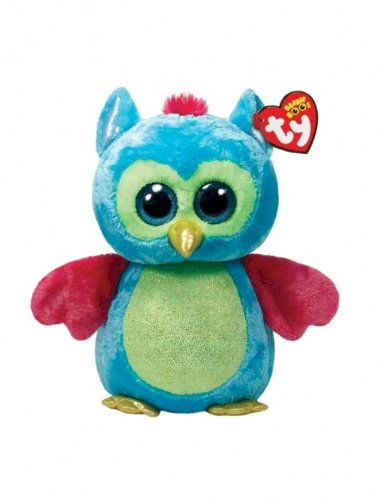 d10b9a04e41 Amazon.com  Ty Beanie Boos Opal - Owl Large (Justice Exclusive ...