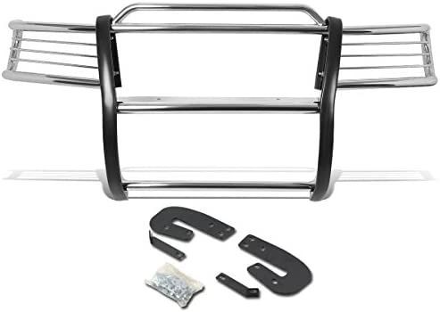 DNA MOTORING GRILL-G-027-SS Front Bumper Brush Grille Guard