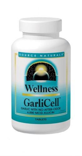 Source Naturals GarliCell 6000mcg l'allicine, 180 comprimés