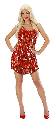 ladies-sequin-dress-red-gold-costume-small-uk-8-10-for-70s-disco-fancy-dress