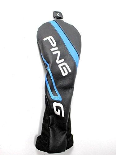 請負業者豊富擬人化Ping 2016 Gシリーズ3フェアウェイウッド用ヘッドカバーヘッドカバーブラックブルーゴルフ