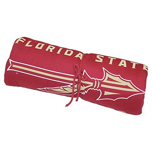 MV Sport Sweatshirt Blanket with Florida State Seminoles Spear Garnet -