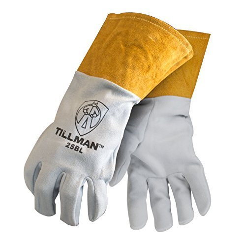 Tillman 25BL Leather Cuff Split Deerskin Kevlar Sewn Tig Gloves