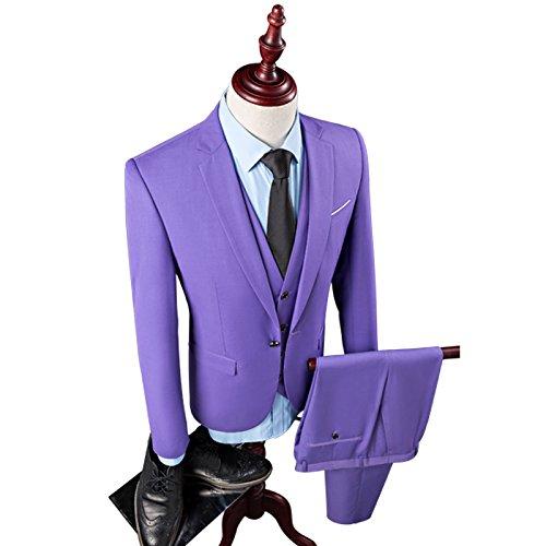 Manteau Blazers Veste d'affaires Costume Pure Couleur de