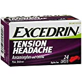 Excedrin Tension Headache Caplets - 24 ct