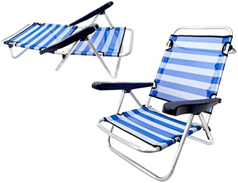 Monty LOLAhome Silla Baja Plegable con 4 Posiciones de Playa o ...