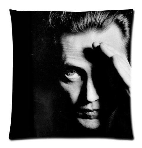 Christopher Walken Dark Close Up Pillowcases Custom Pillow C
