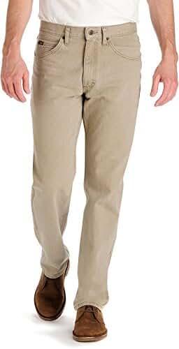 Lee Mens Wheat Regular Fit Jeans