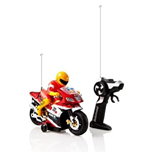 Dimple Radio Control Police Motorcycle with Driver - 41vvrYe3FsL - Dimple Radio Control Police Motorcycle with Driver