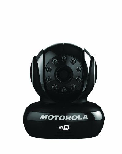 Motorola Scout1 Wi-Fi Pet Monitor for Remote Viewing with iPhone and Android Smartphones and Tablets, Black by Motorola