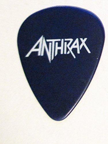 2016-17 Anthrax Joey Belladonna Blue Custom Guitar Pick