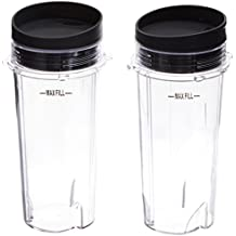 Ninja Single Serve Cup Set, 16-Ounce for BL770 BL780 BL660 All Pro 4 Tab Blenders (DGH20)