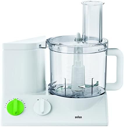 Braun FP 3010 Robot da Cucina, 600 W, Bianco