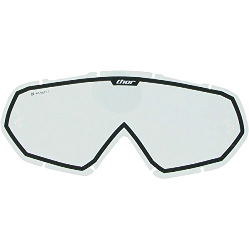 Thor Enemy Youth Goggle Tear-Off Lenses - Clear/Black 2602-0235