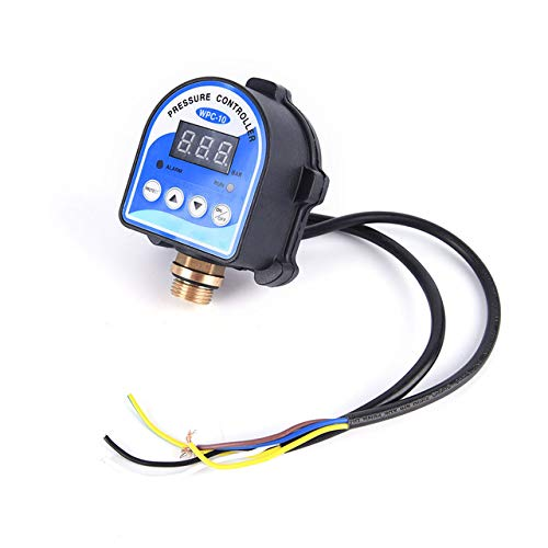 As picture Practical 1pc Digital Display Eletronic Pressure Controller Digital Water Pressure Switch for Water Pump top Quality  (color  as Picture)