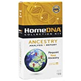 HomeDNA Ancestry Analysis + Report | Choose The Test That's Right for You | at-Home DNA Test Kit | Lab Fees NOT Included | Kit ONLY
