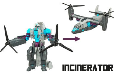Transformers Allspark Power Voyager Class Incinerator