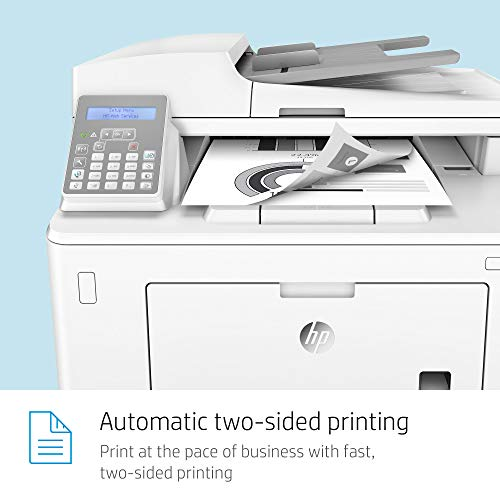 HP Laserjet Pro M148fdw All-in-One Wireless Monochrome Laser Printer with Auto Two-Sided Printing, Mobile Printing, Fax & Built-in Ethernet (4PA42A) by HP (Image #8)