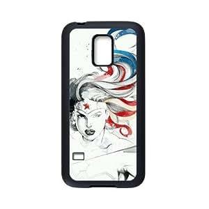 Generic Wonderful Woman Comic Hard Plastic Snap-On Custom Covers for SamSung Galaxy S5 mini
