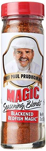 Chef Paul Blackened Redfish Magic Seasoning, 2 oz (Magic Redfish)