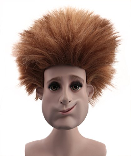 Halloween Party Online Johnny Wig Resort Transylvania Brown Costume Cosplay Kids HM-046