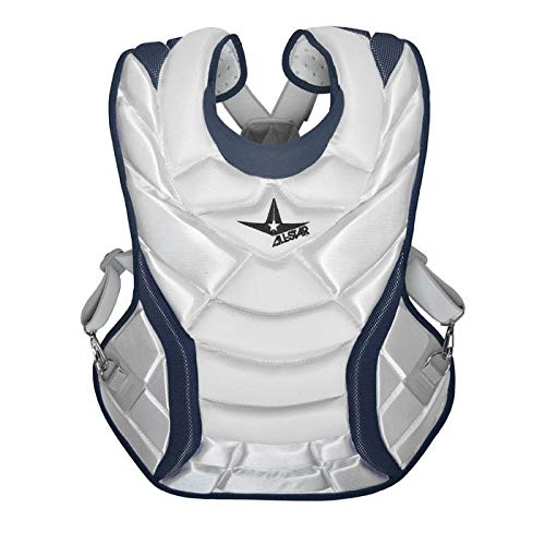 All-Star Vela Professional Fastpitch 14.5'' Chest Protector White/Navy by All-Star