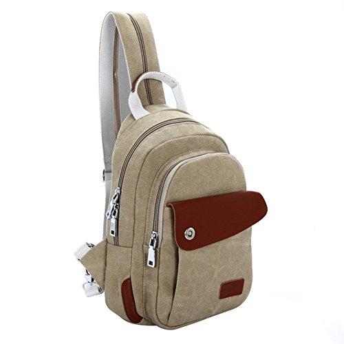 bolsa de lona/paquete de ocio/La pechera Sra./diagonal bolsa/mochila-E B