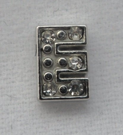 Block Letter Initial E Floating Charm for your Origami Owl Locket