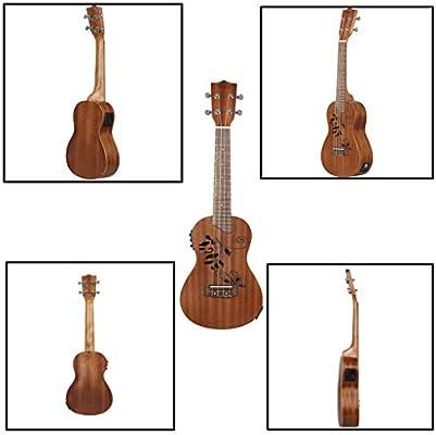 Baoblaze Set de Guitarra Pequeña Ukelele Uke Niñas Niños Familia ...