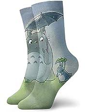 Youth Sports Socks,Cute Totoro Crew Socks Outdoor Socks For Gilrs And Boys