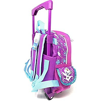 Disney Frozen Toddler 12 inches Mini Rolling Backpack -18305 | Kids' Backpacks