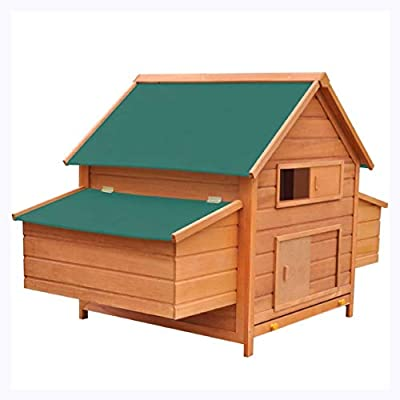 "K&A Company Chicken Coop Wood 61.2""x38.2""x43.3"""