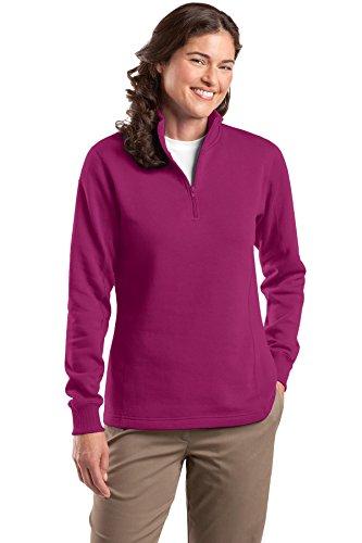 Womens 1/4 Zip Fleece - 2