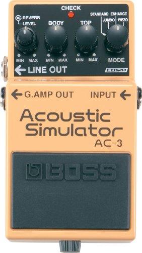 BOSS Acoustic Simulator Guitar Pedal (AC-3)