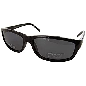 Kenneth Cole Reaction Mens 'KC2407P' Fashion Sunglasses, Black/Grey