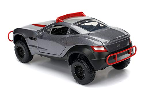 Jada Toys Fast & Furious 1:24 Letty's Rally Fighter Die-cast Car, Toys for Kids and Adults, Gray, Standard 2