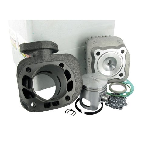 Kit cylindre MALOSSI Sport 70 cc pour Kymco Cobra, Top Boy, filetage Dink, People, Yup, Yager Spacer AC, (courte)