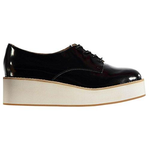 Jeffrey Campbell Garan Plateforme Chaussures pour Femme Noir Fashion Chaussures