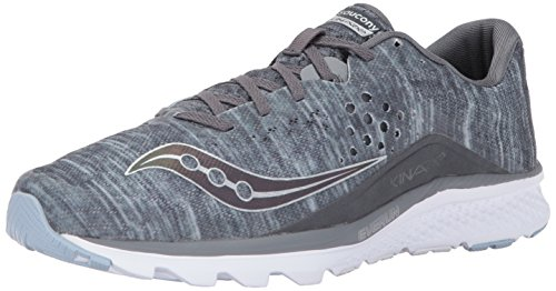 Cheap Saucony Men's Kinvara 8 Running Shoe, Grey, 8 UK/9 M US