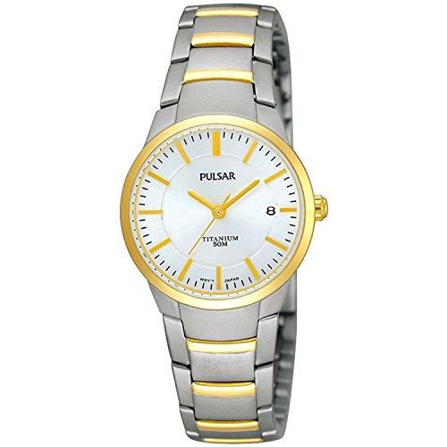 Pulsar Uhren Women's Quartz Watch Modern PH7128X1 with Metal Strap