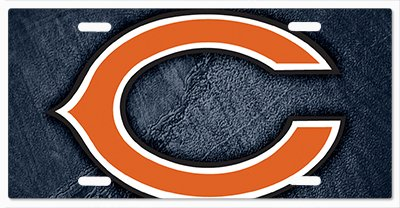 - Chicago Bears - The Run v13 Vanity License Plate